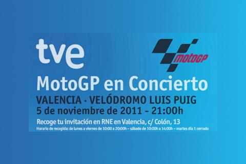 Concierto Moto GP