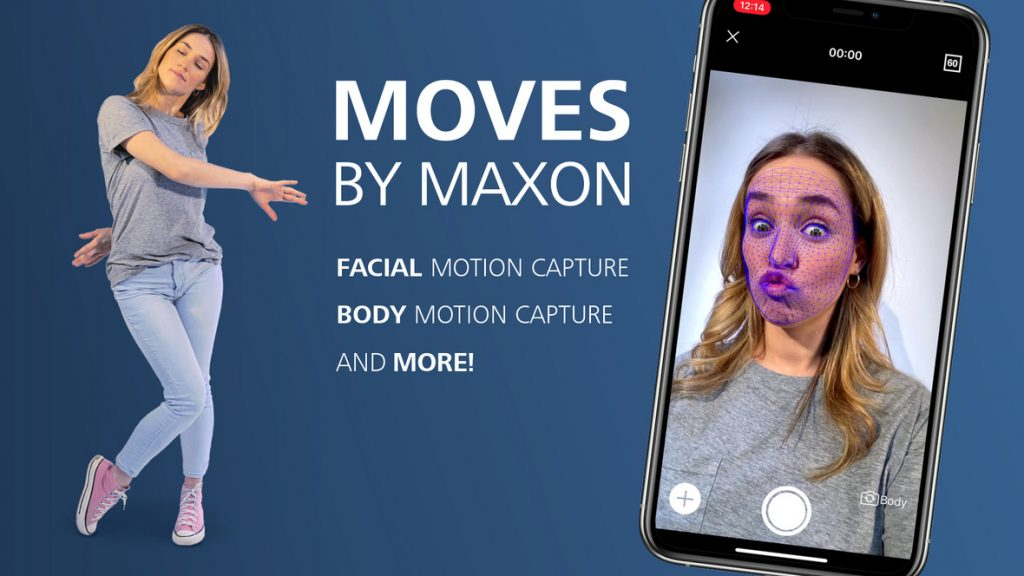 Captura movimientos para Cinema 4D