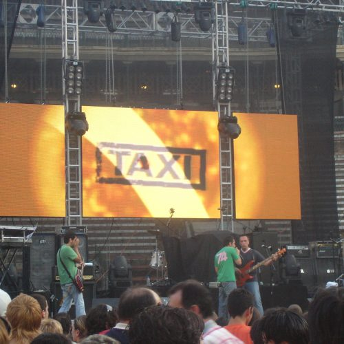 Pantalla TAXI